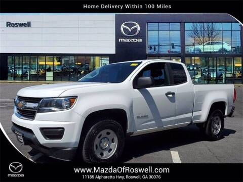 2018 Chevrolet Colorado for sale at Mazda Of Roswell in Roswell GA
