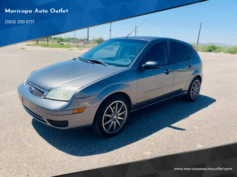2007 Ford Focus for sale at Maricopa Auto Outlet in Maricopa AZ