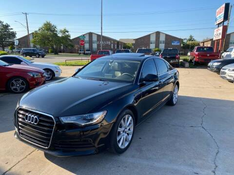 2013 Audi A6 for sale at Car Gallery in Oklahoma City OK