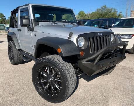 2010 Jeep Wrangler for sale at KAYALAR MOTORS in Houston TX