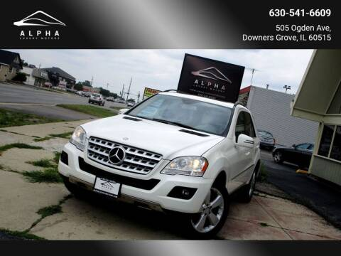 2011 Mercedes-Benz M-Class for sale at Alpha Luxury Motors in Downers Grove IL