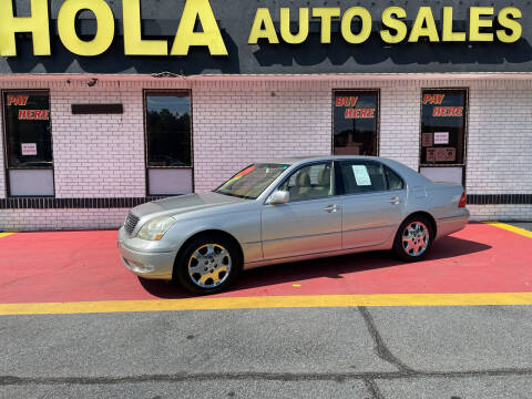 2001 Lexus LS 430 for sale at HOLA AUTO SALES CHAMBLEE- BUY HERE PAY HERE - in Atlanta GA