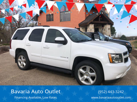 2007 Chevrolet Tahoe for sale at Bavaria Auto Outlet in Victoria MN