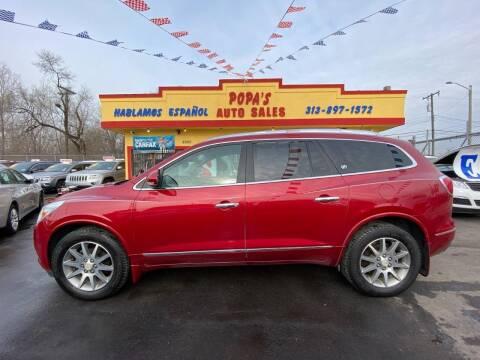 2014 Buick Enclave for sale at Popas Auto Sales in Detroit MI