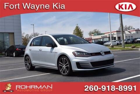 2017 Volkswagen Golf GTI for sale at BOB ROHRMAN FORT WAYNE TOYOTA in Fort Wayne IN