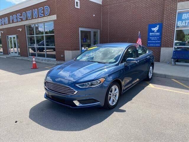 2018 Ford Fusion Hybrid for sale in Belleville, MI