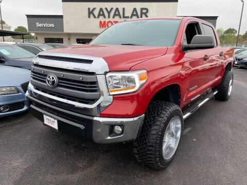 2014 Toyota Tundra for sale at KAYALAR MOTORS in Houston TX