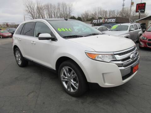 2012 Ford Edge for sale at Fox River Motors in Green Bay WI