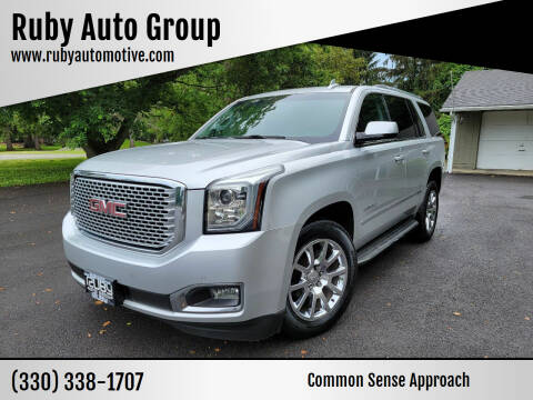 2016 GMC Yukon for sale at Ruby Auto Group in Hudson OH