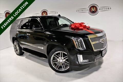 2017 Cadillac Escalade for sale at Unlimited Motors in Fishers IN