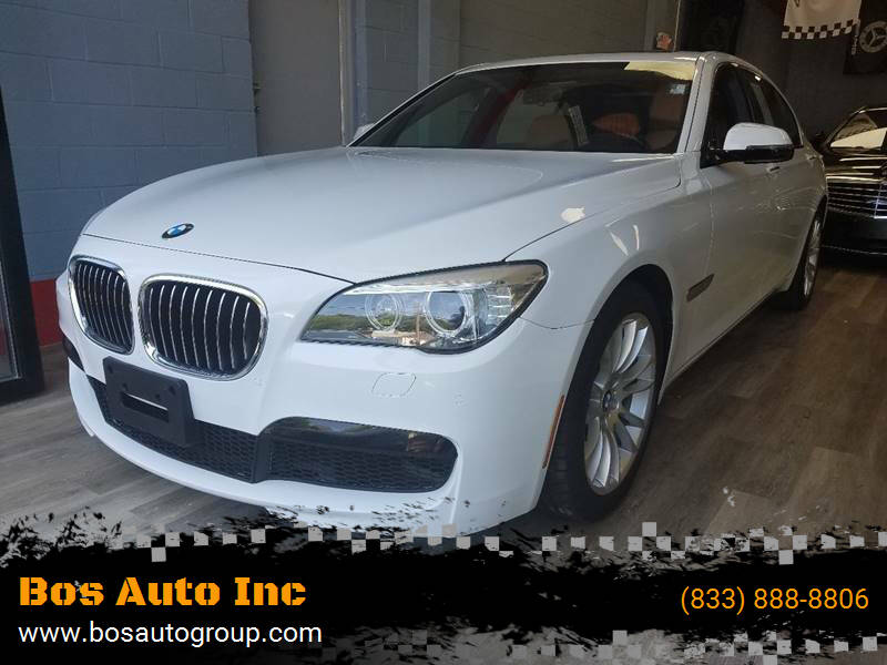 2015 BMW 7 Series for sale at Bos Auto Inc-Boston in Jamaica Plain MA