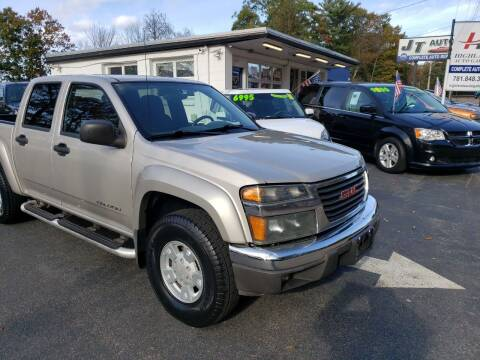 2005 GMC Canyon for sale at Highlands Auto Gallery in Braintree MA