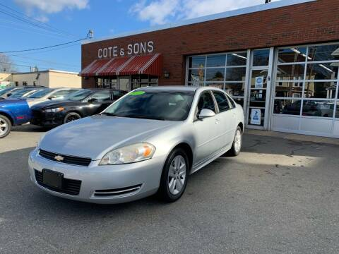 2010 Chevrolet Impala for sale at Cote & Sons Automotive Ctr in Lawrence MA