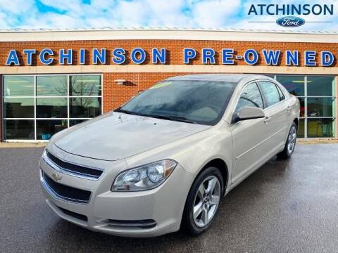 2010 Chevrolet Malibu for sale at Atchinson Ford Sales Inc in Belleville MI
