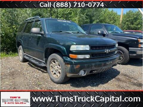 2004 Chevrolet Tahoe for sale at TTC AUTO OUTLET/TIM'S TRUCK CAPITAL & AUTO SALES INC ANNEX in Epsom NH