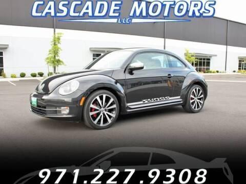 2012 Volkswagen Beetle for sale at Cascade Motors in Portland OR
