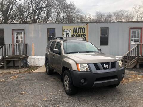 2007 Nissan Xterra for sale at Route 6 Auto Sales in Portage IN