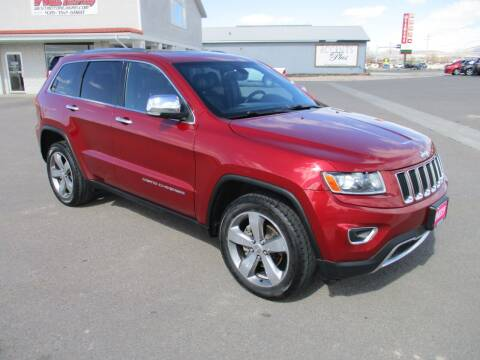 2014 Jeep Grand Cherokee for sale at West Motor Company in Preston ID