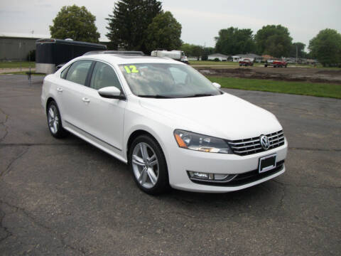 2012 Volkswagen Passat for sale at USED CAR FACTORY in Janesville WI