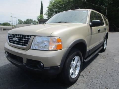 2003 Ford Explorer for sale at Lewis Page Auto Brokers in Gainesville GA