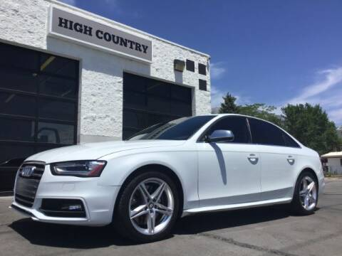 2014 Audi S4 for sale at High Country Motor Co in Lindon UT