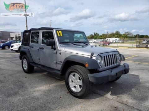 2017 Jeep Wrangler Unlimited for sale at GATOR'S IMPORT SUPERSTORE in Melbourne FL