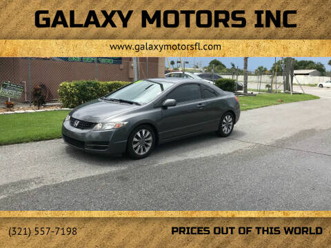 2009 Honda Civic for sale at Galaxy Motors Inc in Melbourne FL