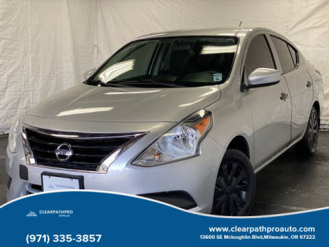 2016 Nissan Versa for sale at CLEARPATHPRO AUTO in Milwaukie OR