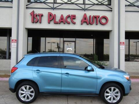 2014 Mitsubishi Outlander Sport for sale at First Place Auto Ctr Inc in Watauga TX