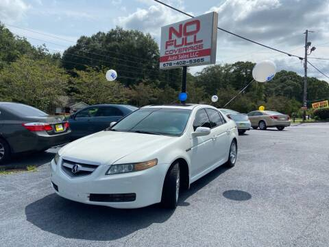 2008 Acura TL for sale at No Full Coverage Auto Sales in Austell GA