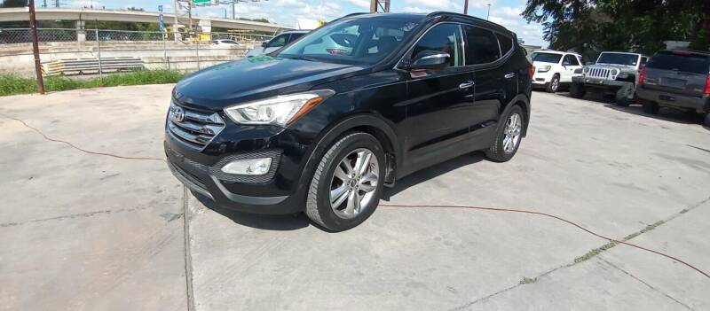 2013 Hyundai Santa Fe Sport for sale at AUTOTEX FINANCIAL in San Antonio TX