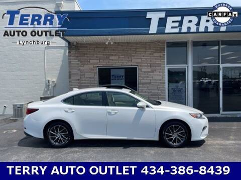 2016 Lexus ES 350 for sale at Terry Auto Outlet in Lynchburg VA