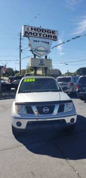 2005 Nissan Frontier for sale at HODGE MOTORS in Bristol TN