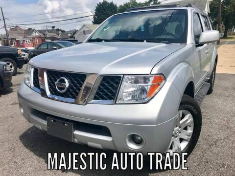 2007 Nissan Pathfinder for sale at Majestic Auto Trade in Easton PA