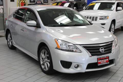 2013 Nissan Sentra for sale at Windy City Motors in Chicago IL