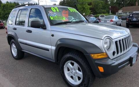 2007 Jeep Liberty for sale at Freeborn Motors in Lafayette, OR