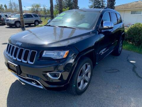 2015 Jeep Grand Cherokee for sale at Contra Costa Auto Sales in Oakley CA