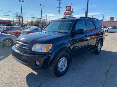 2001 Toyota Sequoia for sale at 4th Street Auto in Louisville KY