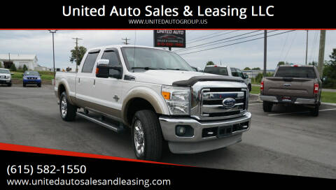 2011 Ford F-250 Super Duty for sale at United Auto Sales & Leasing LLC in La Vergne TN
