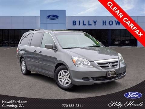 2007 Honda Odyssey for sale at BILLY HOWELL FORD LINCOLN in Cumming GA