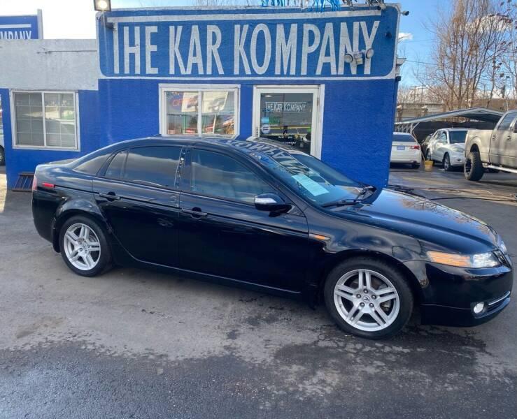 2008 Acura TL for sale at The Kar Kompany Inc. in Denver CO