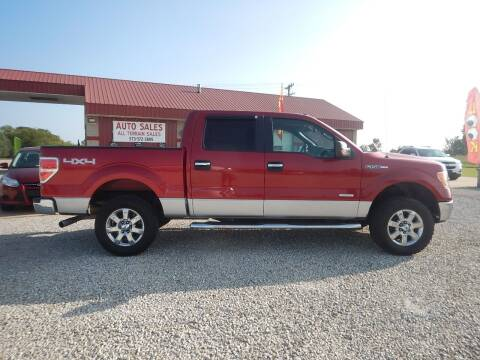 2012 Ford F-150 for sale at All Terrain Sales in Eugene MO