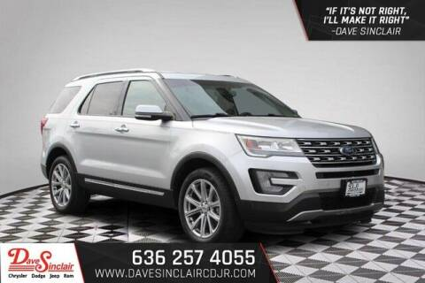 2017 Ford Explorer for sale at Dave Sinclair Chrysler Dodge Jeep Ram in Pacific MO