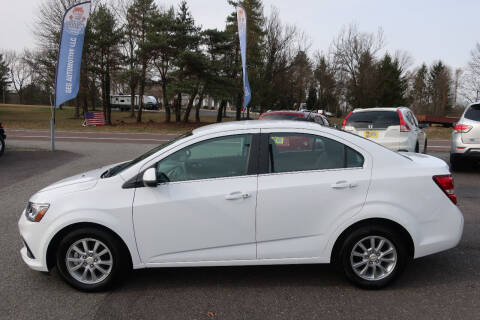 2018 Chevrolet Sonic for sale at GEG Automotive in Gilbertsville PA