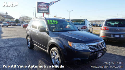 2009 Subaru Forester for sale at ARP in Waukesha WI