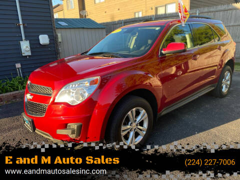 2013 Chevrolet Equinox for sale at E and M Auto Sales in East Dundee IL