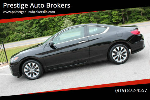 2015 Honda Accord for sale at Prestige Auto Brokers in Raleigh NC