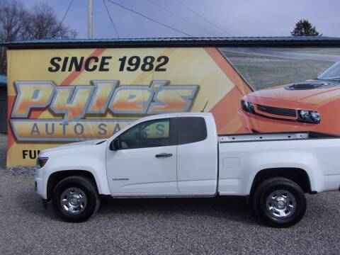 2019 Chevrolet Colorado for sale at Pyles Auto Sales in Kittanning PA