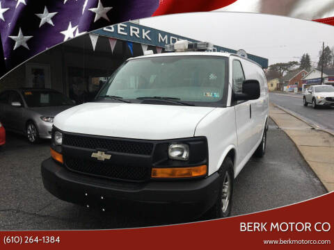 2007 Chevrolet Express Cargo for sale at Berk Motor Co in Whitehall PA