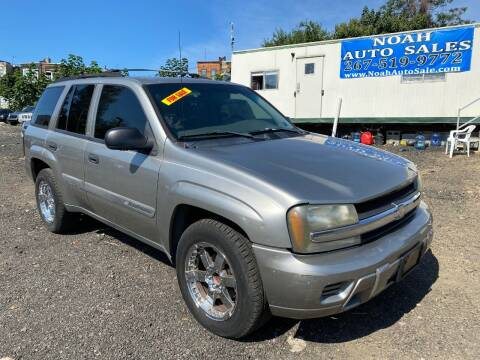 2003 Chevrolet TrailBlazer for sale at Noah Auto Sales in Philadelphia PA
